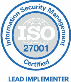 Vygintas Duda ISO27000 sertifikatas