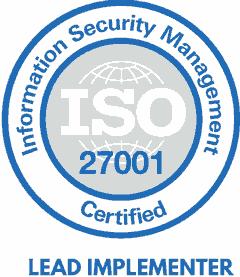 Vygintas Duda ISO27000 certificate