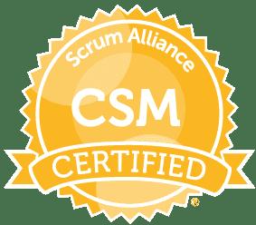 Arūnas Anskaitis Scrum Master sertifikatas