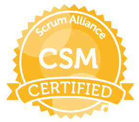 Arunas Anskaitis Scrum Master certificate