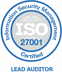 Henrikas Šavela ISO27001 Lead Auditor certificate